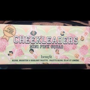 Benefit cheekleader mini pink squad palette